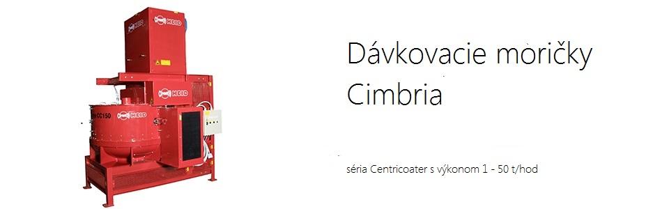 Dávkovacie moričky Cimbria Centricoater
